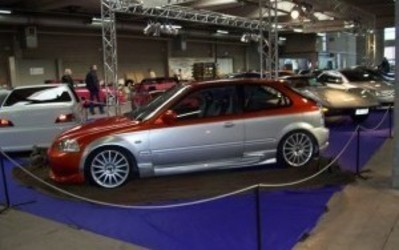 Carrosserie Paul Bvba - Projecten - Candy Civic